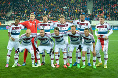 FC Bayern team Stock Photography