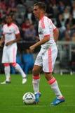 FC Bayerns Philipp Lahm Stock Photos