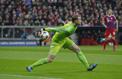 FC Beieren Muenchen v FC Shakhtar Donetsk - UEFA-Kampioenenliga royalty-vrije stock foto's
