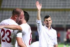 FC Bucarest-CFR veloce Cluj Fotografia Stock Libera da Diritti