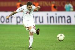 FC Bucarest rápida - FC Heerenveen Fotografía de archivo libre de regalías
