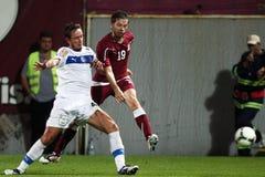 FC Bucarest rapida - FC Costanza Fotografia Stock