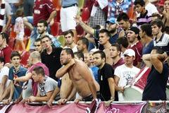 FC Bucarest rapida - FC Heerenveen Fotografia Stock Libera da Diritti
