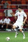 FC-for Bucharest - FC Heerenveen Arkivfoton