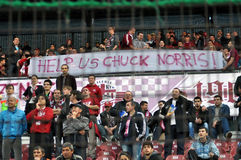 FC CFR Cluj team supporters, Romania Stock Photo