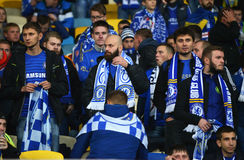 FC Chelsea fans Royalty Free Stock Photography
