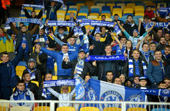 FC Chelsea fans Royalty Free Stock Images