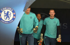 FC  Chelsea football players Stock Photo