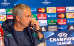 FC Chelsea manager Jose Mourinho Royalty Free Stock Photo