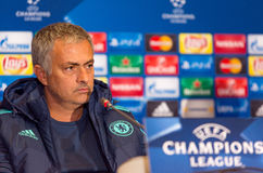 FC Chelsea manager Jose Mourinho Royalty Free Stock Photos