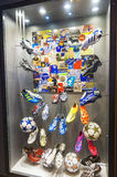 At FC Chelsea official Museum royalty free stock images