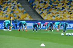 FC Chelsea during open training session  Stock Image