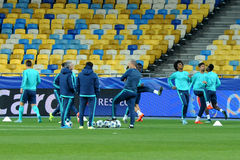 FC Chelsea during open training session Royalty Free Stock Images