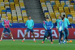 FC Chelsea during open training session Stock Photography