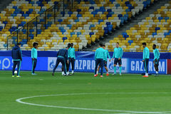 FC Chelsea during open training session Stock Photo