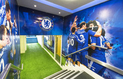 FC Chelsea stadium tunnel Royalty Free Stock Image