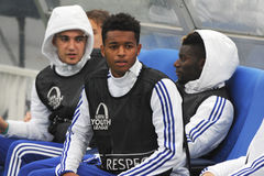 FC Chelsea substitute players Stock Photography