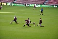 FC COPENHAGEN FOOTBALL TEAM MIXED ZOnE Royalty Free Stock Image