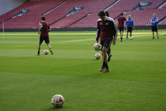 FC COPENHAGEN FOOTBALL TEAM MIXED ZOnE Stock Image