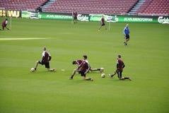 FC COPENHAGEN FOOTBALL TEAM MIXED ZOnE Stock Photography