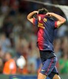 FC David Willa Barcelona Zdjęcie Stock