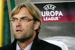 FC de bus Jurgen van Dortmund Borussia Royalty-vrije Stock Foto's