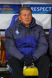 FC de manager Oleh Blokhin van Kyiv van de dynamo Royalty-vrije Stock Fotografie