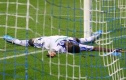 FC de striker Bruine Ideye van Kyiv van de dynamo Royalty-vrije Stock Afbeelding