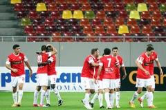 FC Dinamo Bucarest - FC Pandurii Targu-Jiu Fotografia Stock