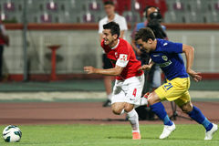 FC Dinamo Bucarest-FC Petrolul Ploiesti immagini stock
