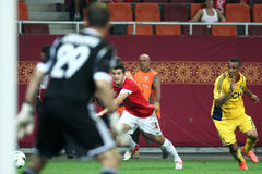 FC Dinamo Bucarest Metalist Harkov Immagini Stock Libere da Diritti