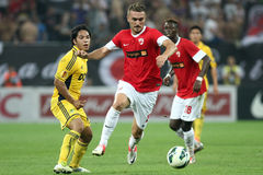 FC Dinamo Bucarest Metalist Harkov Immagini Stock