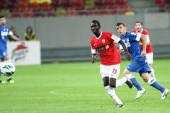FC Dinamo Bucareste - FC Pandurii Targu-Jiu Imagens de Stock