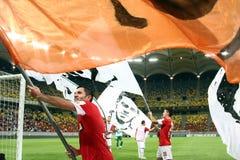 FC Dinamo Bucareste - FC Pandurii Targu-Jiu Imagem de Stock