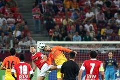 FC Dinamo bucharest-FC Барселона Стоковое Изображение