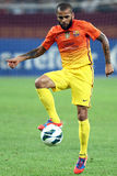 FC Dinamo Bucharest-FC Barcelona Stock Images