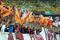 FC Dinamo Bucharest - FC Pandurii Targu-Jiu Royaltyfri Fotografi