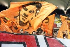 FC Dinamo Bucharest - FC Pandurii Targu-Jiu Royalty Free Stock Photo