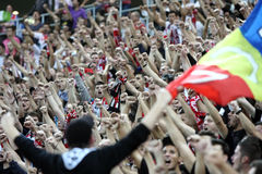 FC Dinamo Bucharest - FC Pandurii Targu-Jiu Stock Photo