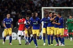 FC Dinamo Bucharest-FC Petrolul Ploiesti Stock Images