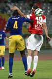 FC Dinamo Bucharest-FC Petrolul Ploiesti Royalty Free Stock Photo