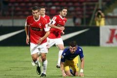 FC Dinamo Bucharest-FC Petrolul Ploiesti Royalty Free Stock Images