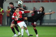 FC Dinamo Bucharest - FC Rapid Bucharest Stock Photo