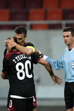 FC Dinamo Bucharest - FC Rapid Bucharest Royalty Free Stock Photos