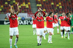 FC Dinamo Bucharest - FC Rapid Bucharest Stock Images