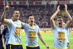 FC Dinamo Bucharest- FC Steaua Bucharest Royalty Free Stock Images