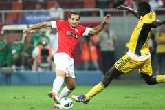 FC Dinamo Bucharest- Metalist Harkov Стоковые Фотографии RF
