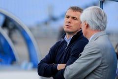Βασικός προπονητής FC Dinamo Serhiy REBROV Στοκ φωτογραφία με δικαίωμα ελεύθερης χρήσης