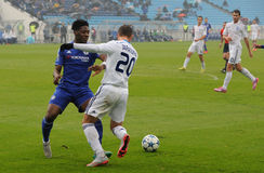 FC Dinamo vs FC Chelsea. U-19 UEFA Champions League Royalty Free Stock Image
