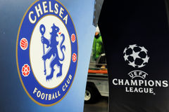 FC Dinamo vs FC Chelsea. U-19 UEFA Champions League Stock Photo